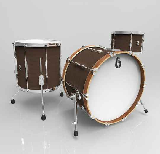 British Drum Co, Lounge Club 24 Kensington Crown drumset