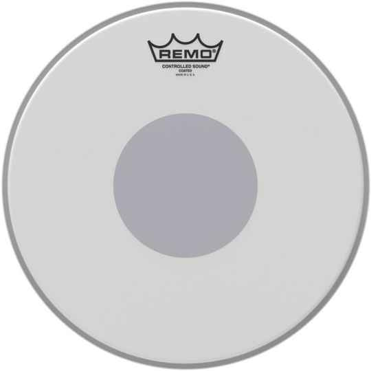 "Remo 12"" Ambassador Coated CS Snaredrum Batter Bottom Black Dot"