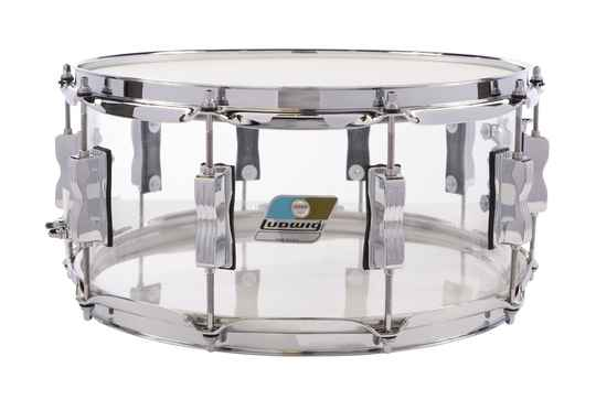 Ludwig Vistalite Snare Clear