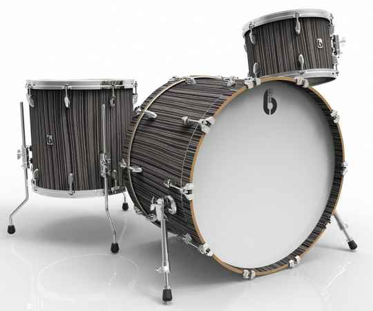 British Drum Co, Legend Club Carnaby Slate drumset
