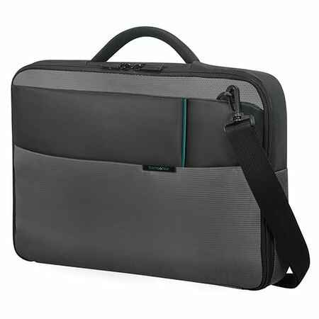 "Samsonite 16N09007 Qibyte Office Case laptop táska 15.6"", antracit"