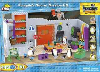 Penguins Secret Mission HQ