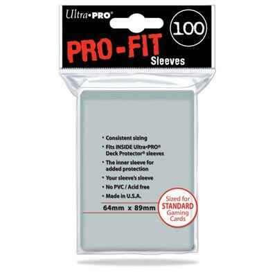 Sleeves Pro-Fit Clear