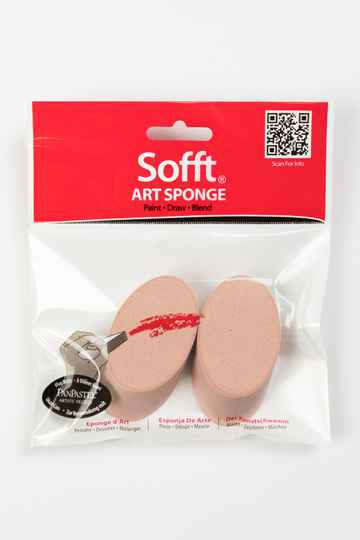 Sofft Art Sponge Angle Round (2) 61030
