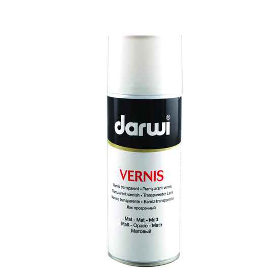 Darwi Vernis Mat 400 ml Spray