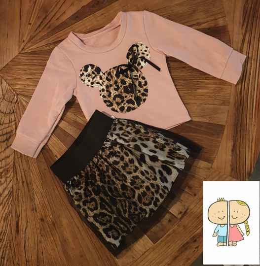 Minnie set Panter Pink