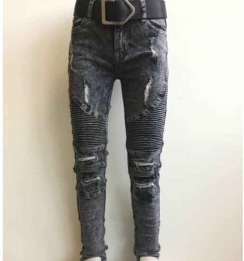 Stoere jeans Grijs Squared & Cubed