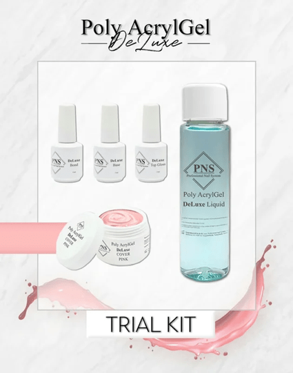 PNS Poly AcrylGel DeLuxe Trial Kit 1