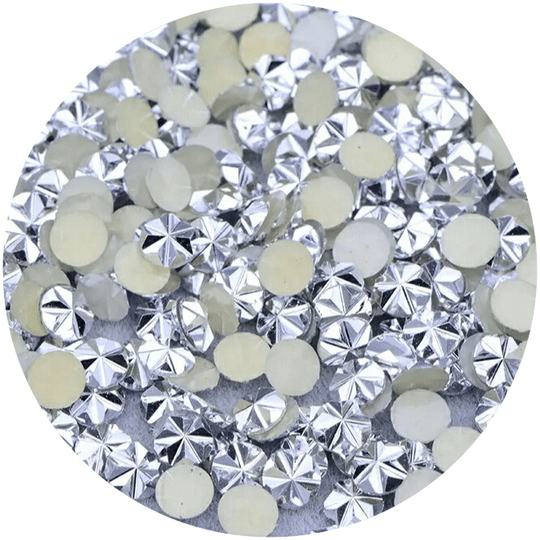 PNS Flower Stone Silver