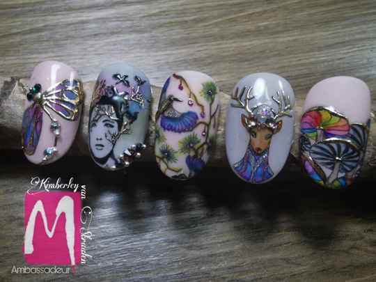 Stamping with Colours -online-