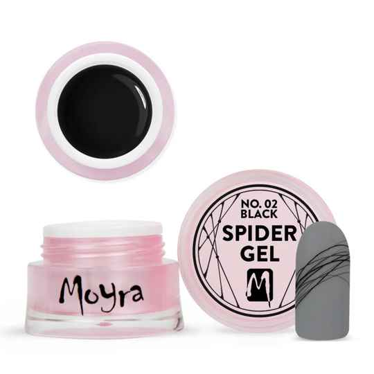 Moyra Spider Gel No.2 Black