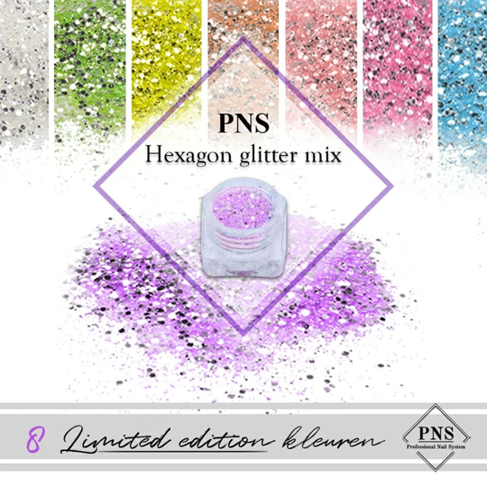 PNS Hexagon Glitter Mix (Limited Edition)