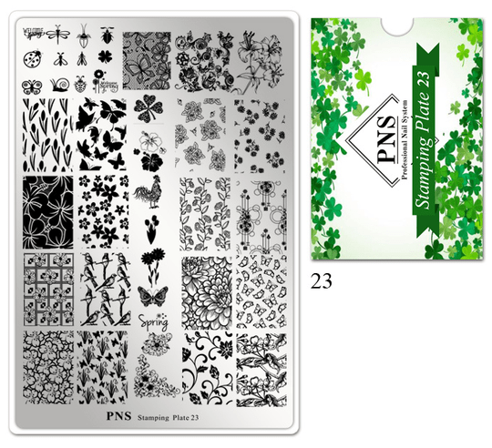 PNS Stamping Plate 23