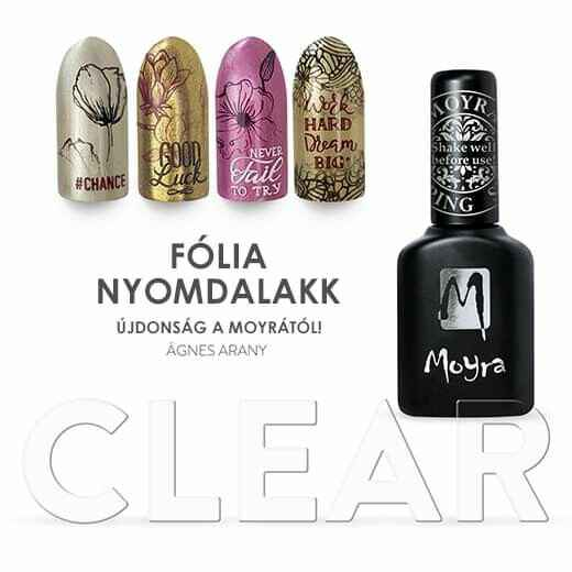 Moyra Foil Polish For Stamping Clear