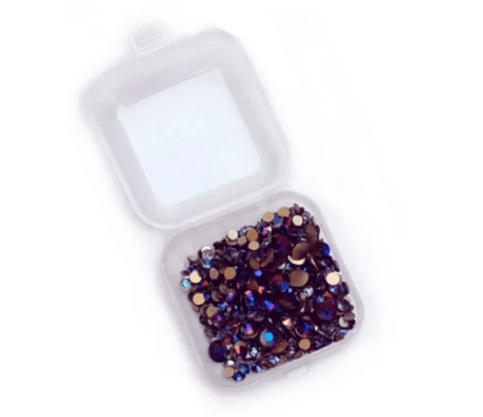 PNS Rhinestone Mix #2 - Black Blue AB