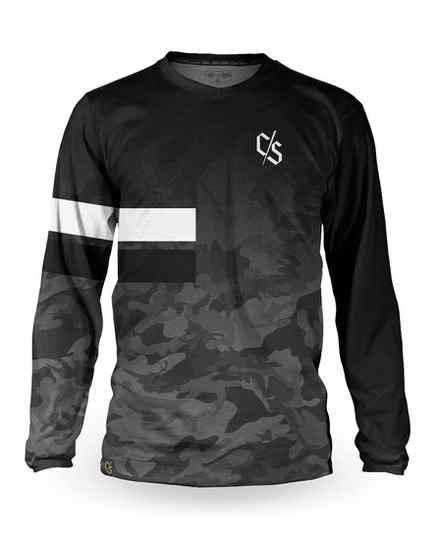 Loose Riders jersey dipped monochrome