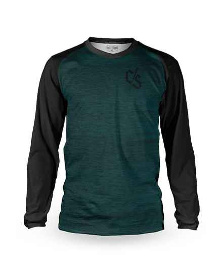 Loose Riders jersey heather teal