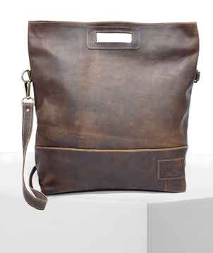 HandBag/ShoulderBag VONDEL Walnut Brown