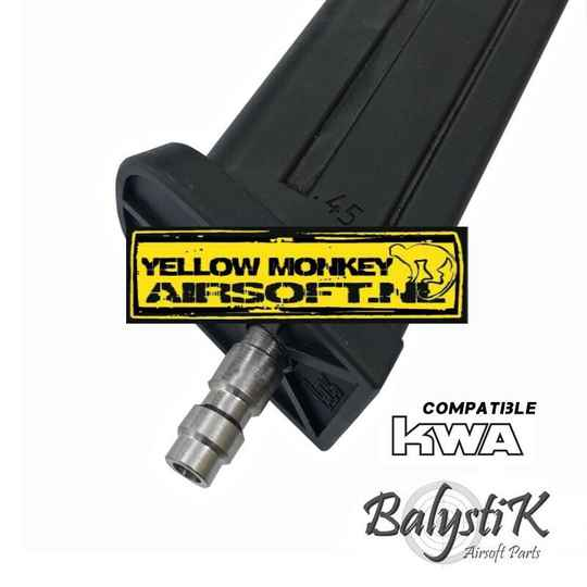 balystik HPA  us valve without drilling, suitable for KWAGBB magazine.