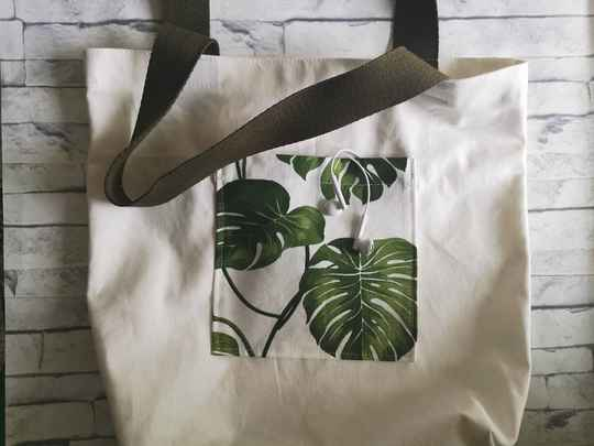 The Day Tote | Monstera