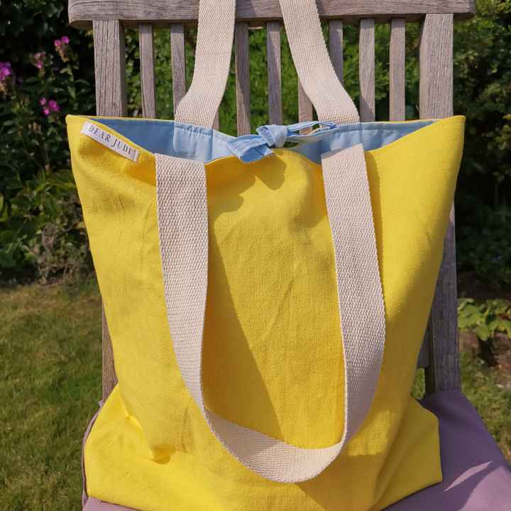 The Simple Yellow Tote