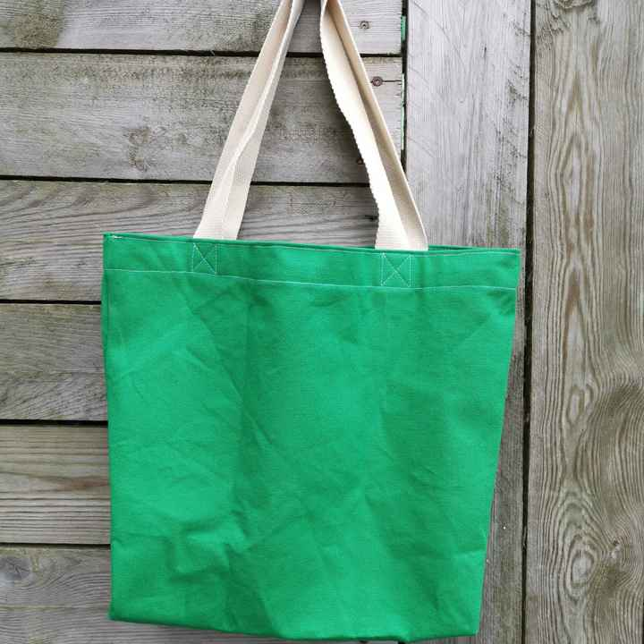 The Basic Green Tote