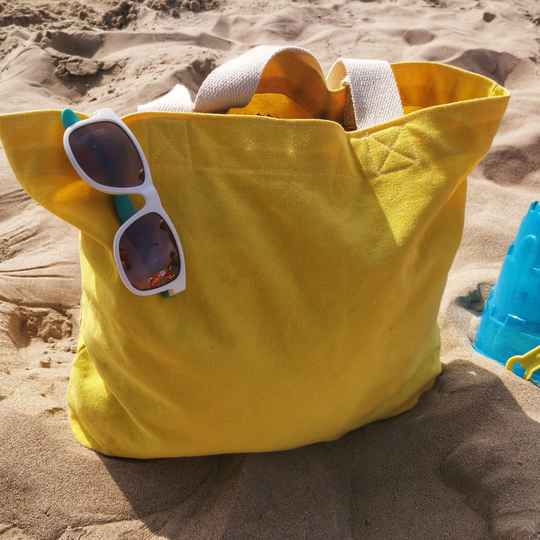 The Basic Yellow Tote