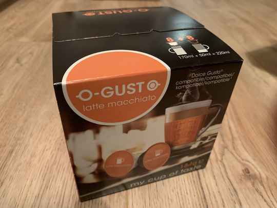 Mr. Coffee o-gusto Latte machiatto