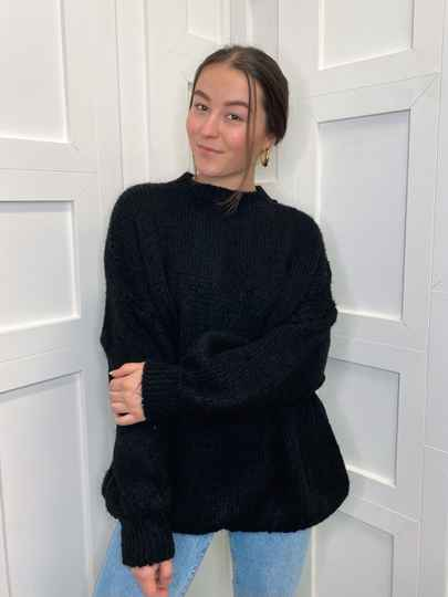 Oversized Jumper Black