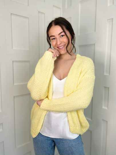 Likeable Knit Soft Yellow