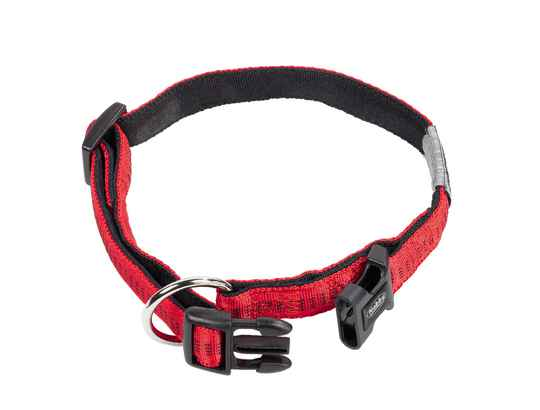 Nobby Halsband Soft Grip Rood 50-65cm