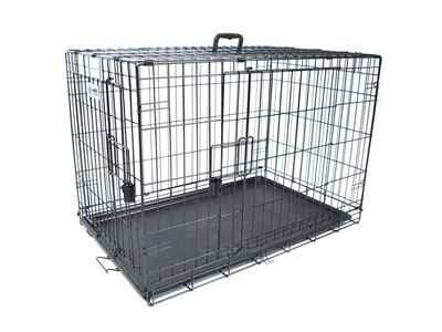 M-Pets Voyager Wire Crate 2 doors S