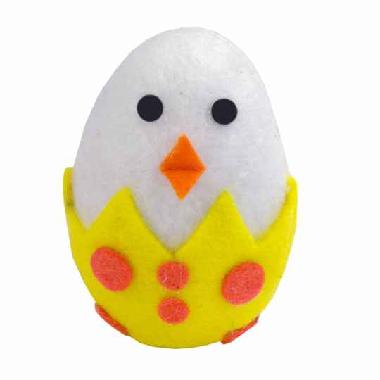 Crazy Cat Easter Chick