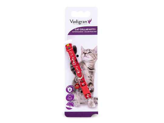 Kattenhalsband Kitty Cat Rood