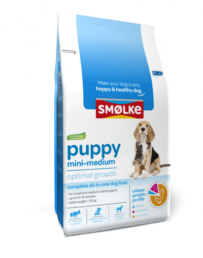 Smølke Puppy Mini-Medium 12kg