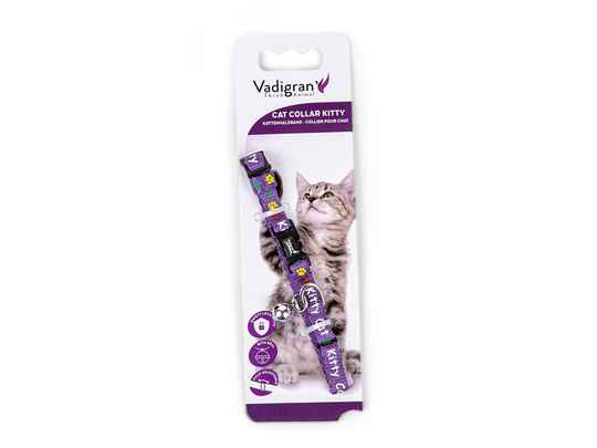 Kattenhalsband Kitty Cat Paars