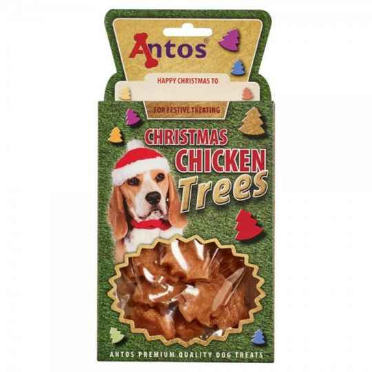 Antos Christmas Chicken Trees 100g