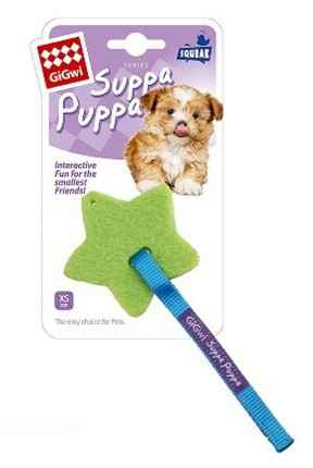 Gigwi Suppa Puppa Natural Rubber ster
