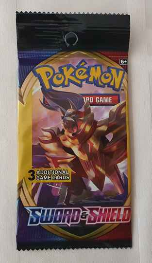 Trading card game pack #4