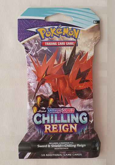 Sword & shield chilling reign sleeved booster #2