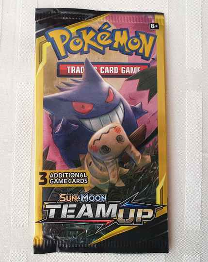 Trading card game pack #8