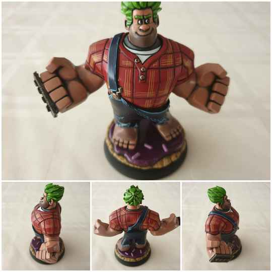 Wreck-it ralph painted