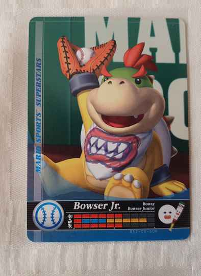 Honkbal: Bowser Jr.