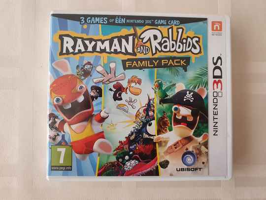 Rayman and rabbids family pack 3 games in 1