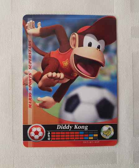 Voetbal: Diddy Kong