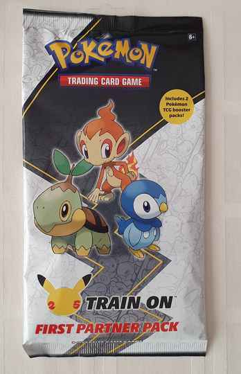 Train on first partner pack