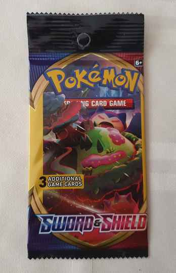 Trading card game pack #1