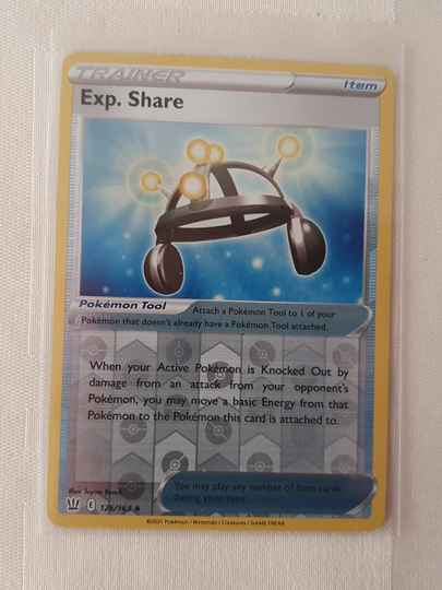 Trainer exp. share holo