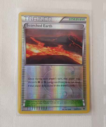 Trainer Scorched earth holo