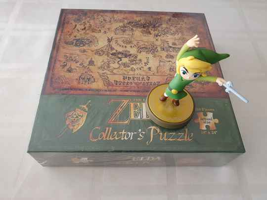 Toon link the wind waker + puzzle